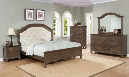 6 PCS TAFTON BEDROOM SET-B1860-Set