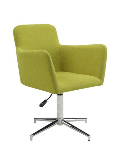 HEIGHT ADJUSTABLE CHARTREUSE UPHOLSTERED DINING CHAIR (SET OF 2) BY SCOTT LIVING