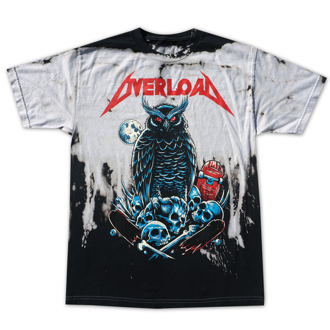 99f0647fa60 Overload - T-Shirt - Metal - White Drip