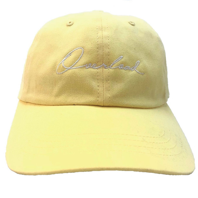 Overload - Hat - Script Unconstructed - Yellow
