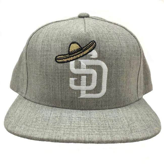 Overload - Hat - SD Sombrero - Heather Grey