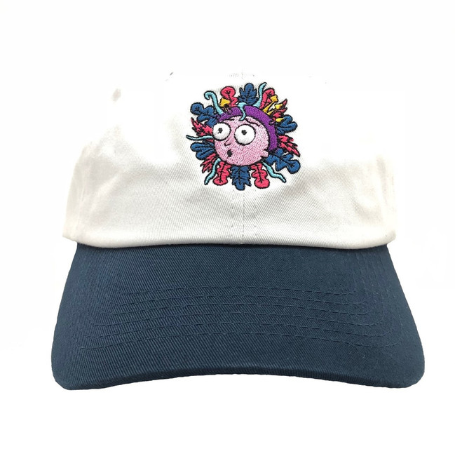 Primitive - Hats - Morty Dad - White/Navy