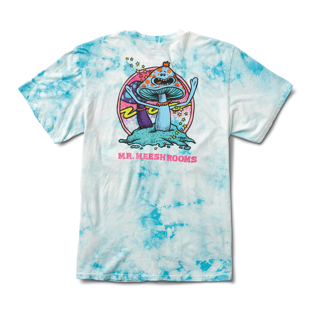 Primitive - T-Shirt - Mr. Meeshroom - Crystal Wash