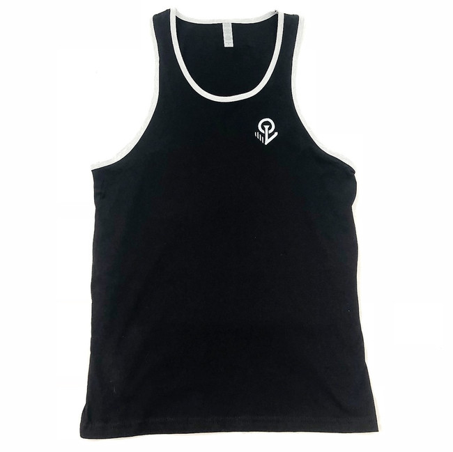 Overload - Tank Top - Anchor EMB - Black/Heather