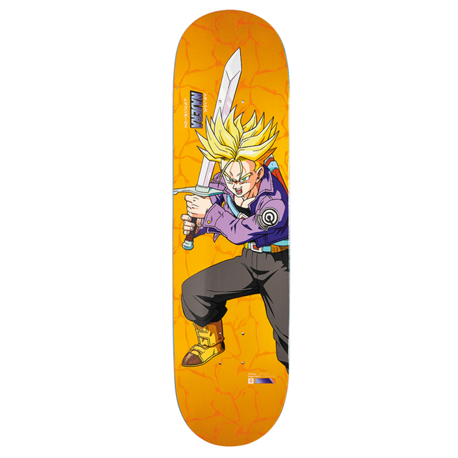 "DBZ DIEGO NAJERA SUPER SAIYAN TRUNKS DECK - 8.0"" & 8.125"""