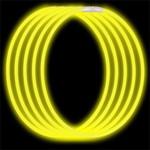 Economy Glow Necklace - Yellow (50-Pack)