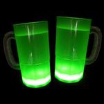 Cool Glow Mugs 12oz. Green (30 per Pack!)