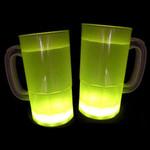 Cool Glow Mugs 12oz. Yellow (30 per Pack!)