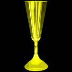 Light Up Champagne Cup White- Mrs.