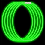 Economy Glow Necklace - Green (50-Pack)