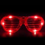 Red LED Shutter Glasses