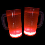 Cool Glow Mugs 12oz. Red (30 per Pack!)