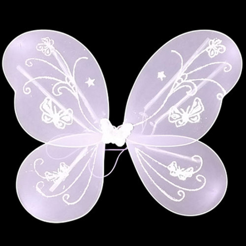 LED Flashing Butterfly/Fairy Wings - Purple