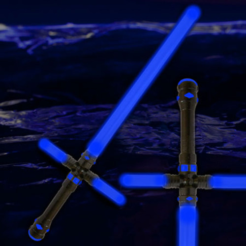 """34.5"""" LED Light Up Tri-Saber Blue"""