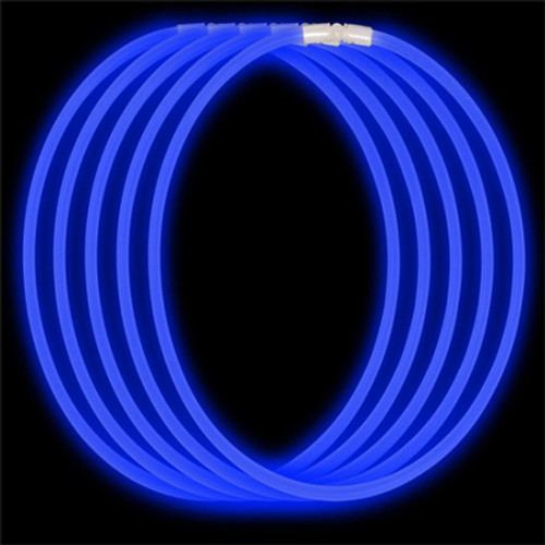 Economy Glow Necklace - Blue (50-Pack)
