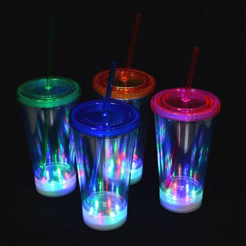 LED 16oz Tumbler- Clear