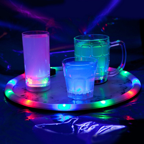 Light Up Serving Tray Multicolor