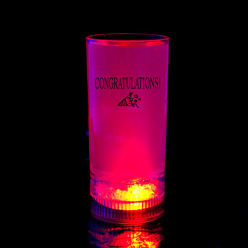 Light Up Straight-Up Cup- Congratulations!