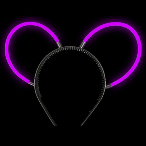 Purple Glow Bunny Ears
