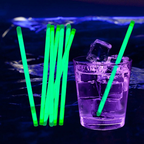 Glow Stir Sticks: Green (100-Pack)