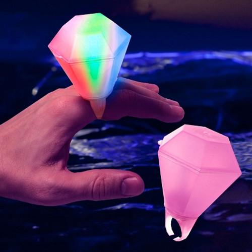 Light Up Giant Diamond Ring
