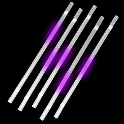 Purple Glow Straws (25 Per Pack!)