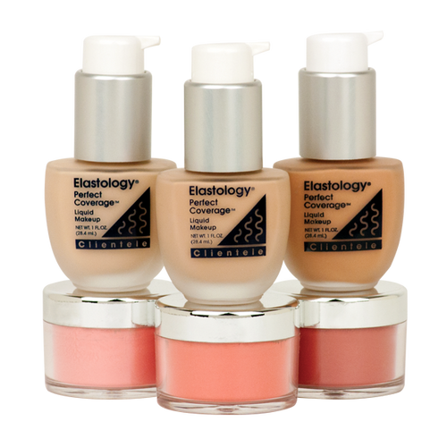 Perfect Coverage® Liquid Makeup with Contour Blush