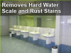 Restrooms floor cleaner