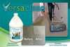 Low moisture fast drying carpet cleaning