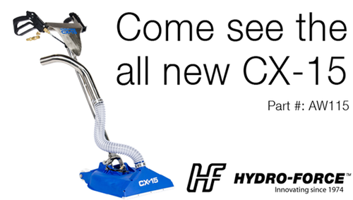 CX-115 new technology in Carpet wands