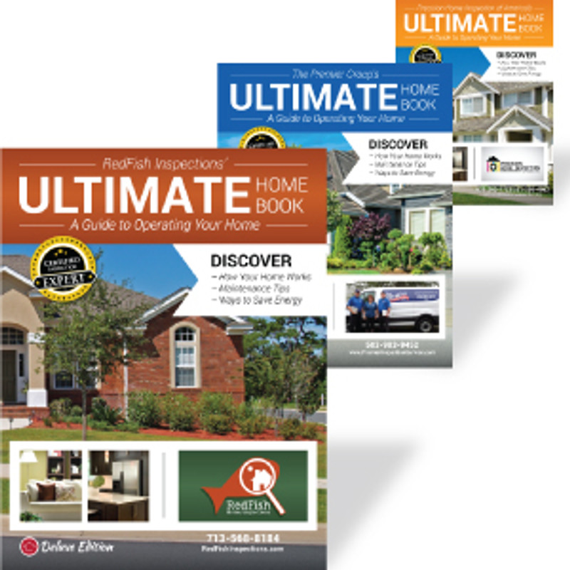 Ultimate Home Book Custom Design - Front & Back Cover