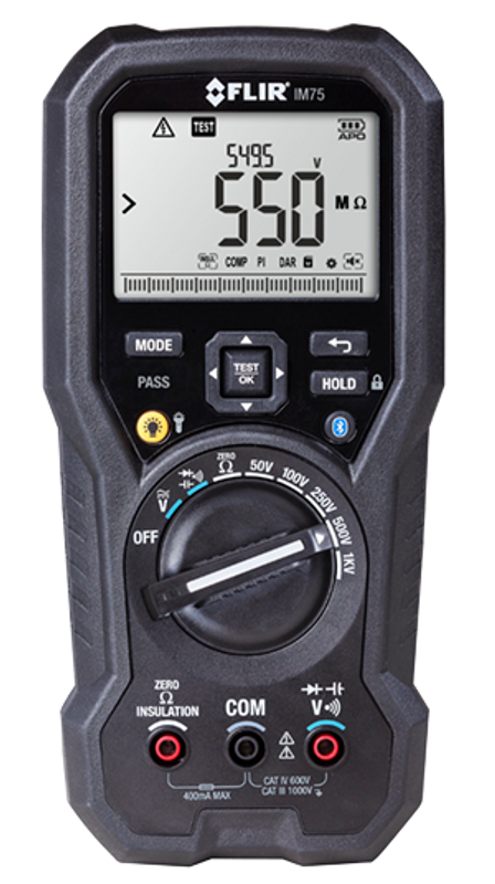 FLIR IM75 - Digital Multimeter / Insulation Tester with METERLiNK™