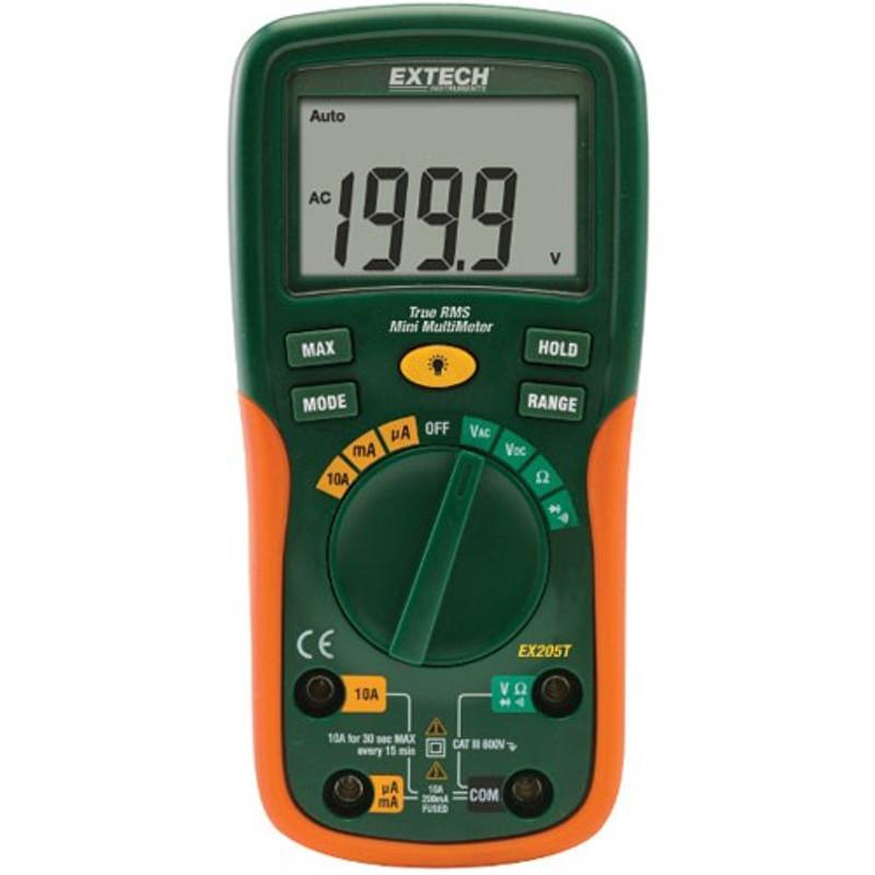 EX205T TrueRMS Digital Multimeter