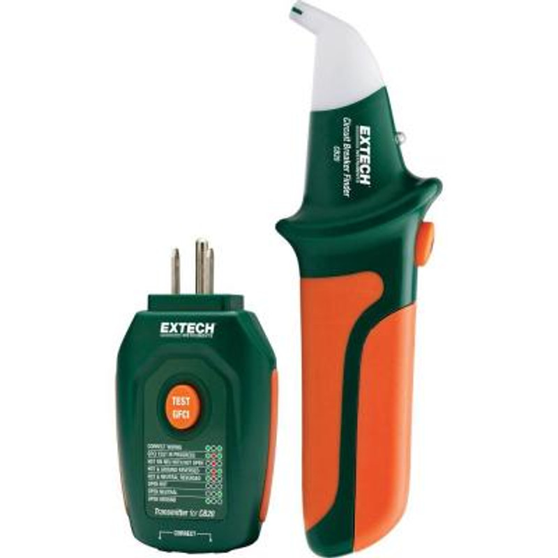 EXTECH CB20 Circuit Breaker Finder/Receptacle Tester
