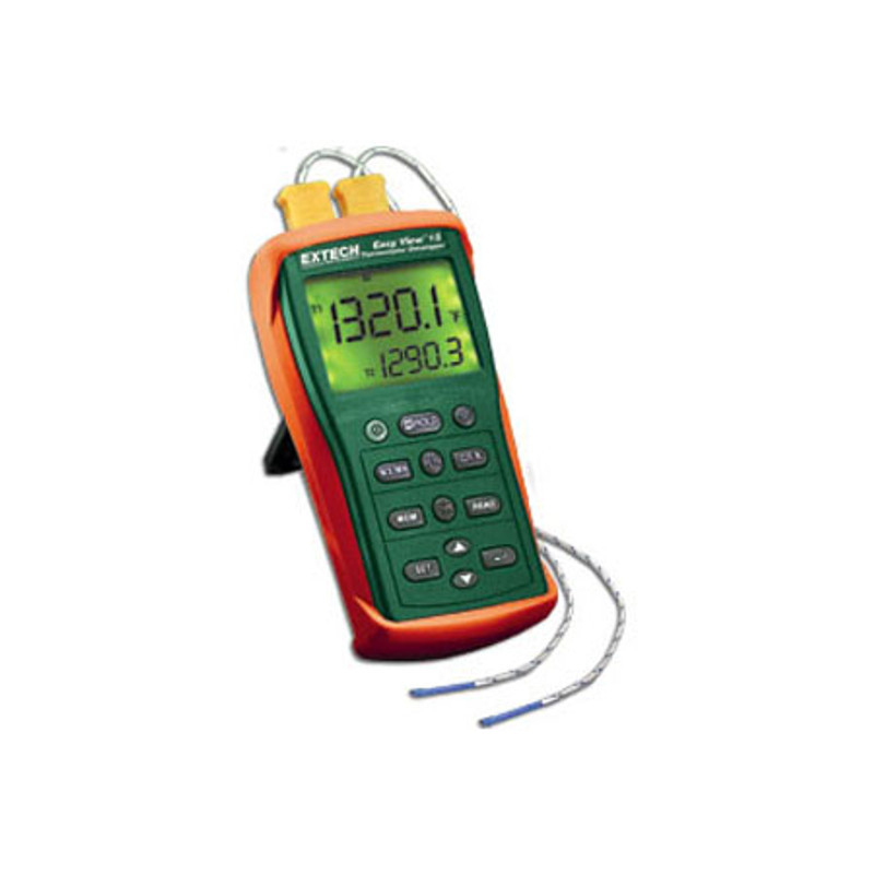 EXTECH EA15 EasyView™ Dual Input Temperature Datalogger with NIST
