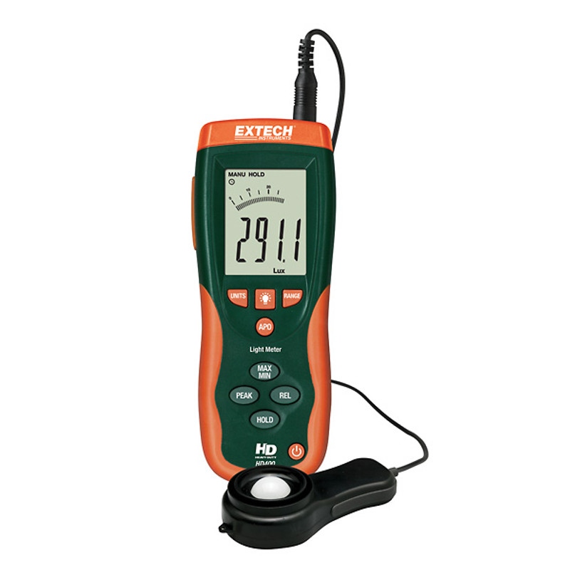 EXTECH HD400 Heavy Duty Light Meter with NIST