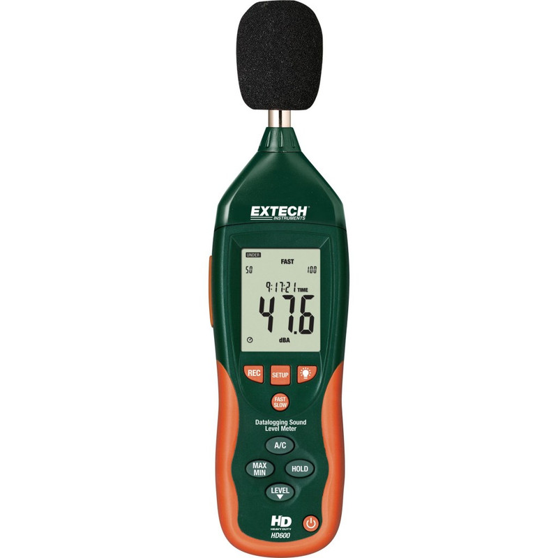 EXTECH HD600 Datalogging Sound Level Meter with N