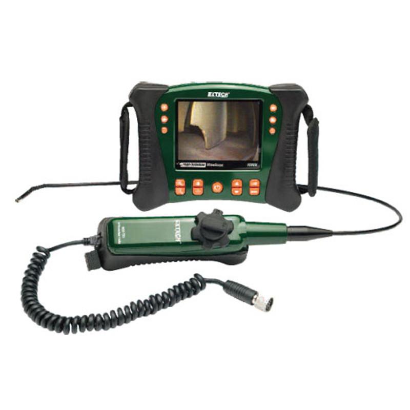 EXTECH HDV640 HD VideoScope Kit with Handset/Articulating Probe