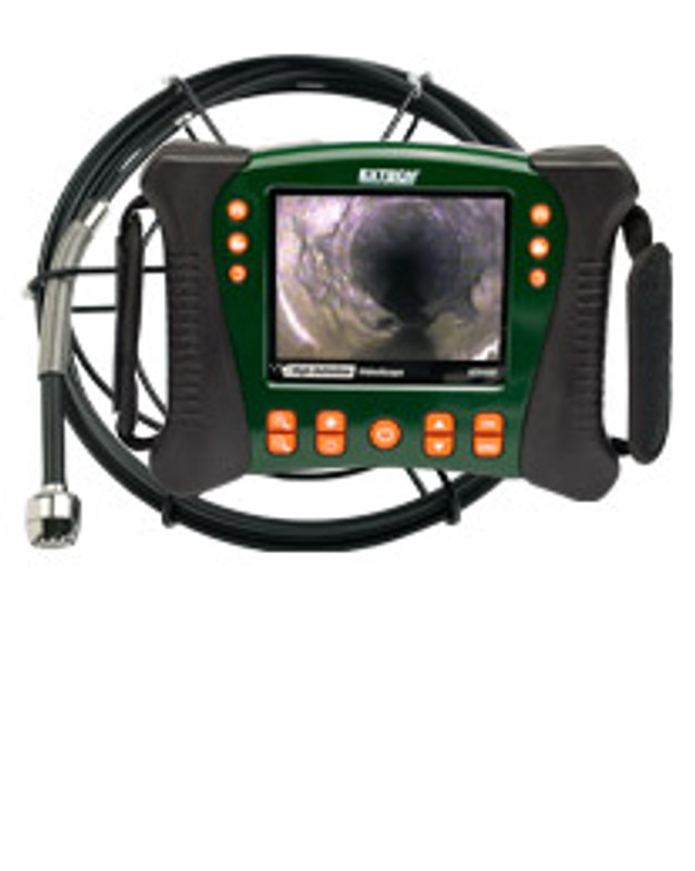 EXTECH HDV650-10G HD VideoScope Plumbing Kit with 10m Probe