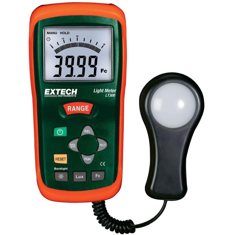 EXTECH LT300 Light Meter with NIST