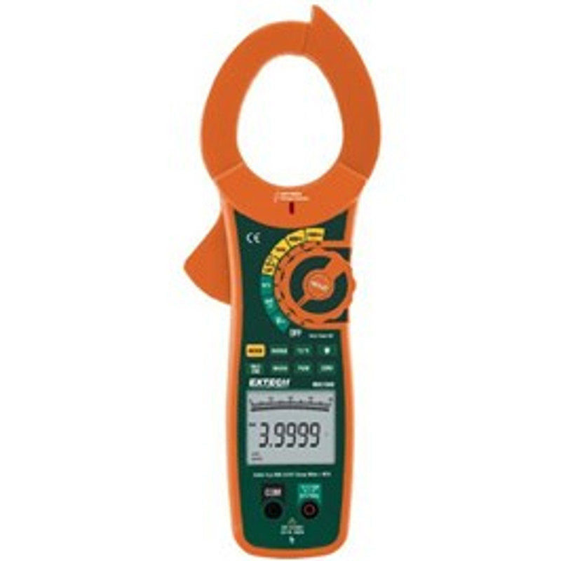 EXTECH MA1500 1500A True RMS AC/DC Clamp Meter + NCV with NIST