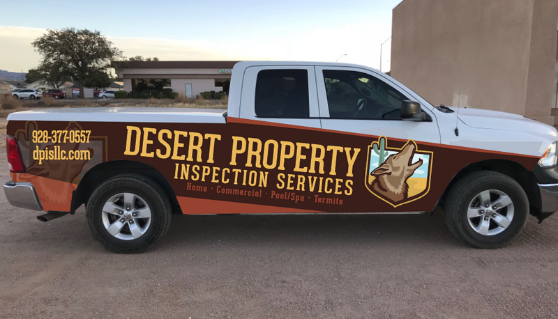 Vehicle Wrap (Design Only)