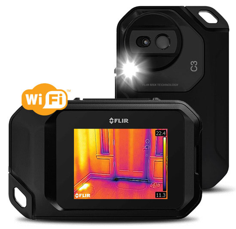 FLIR C3 compact thermal imaging system with wifi