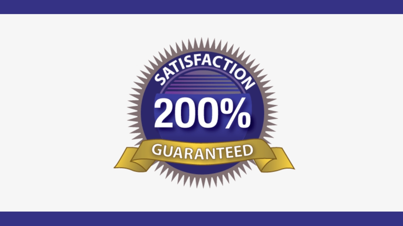 200% Guarantee Custom Video