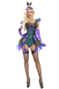 Shop this women's beautiful Party King sequin peacock bodysuit costume