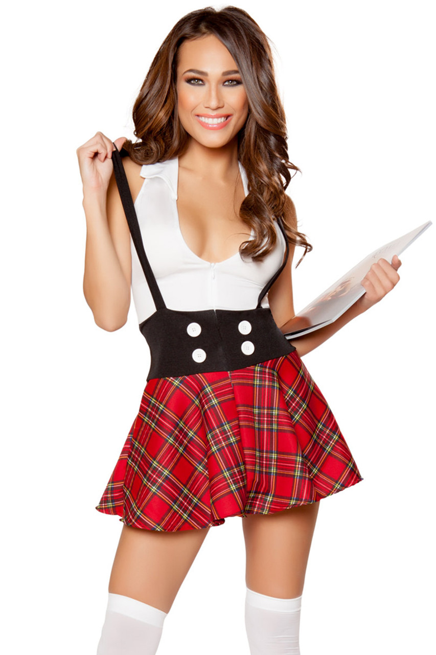 1Pc Teasing School Girl - Womens Costumes-4353