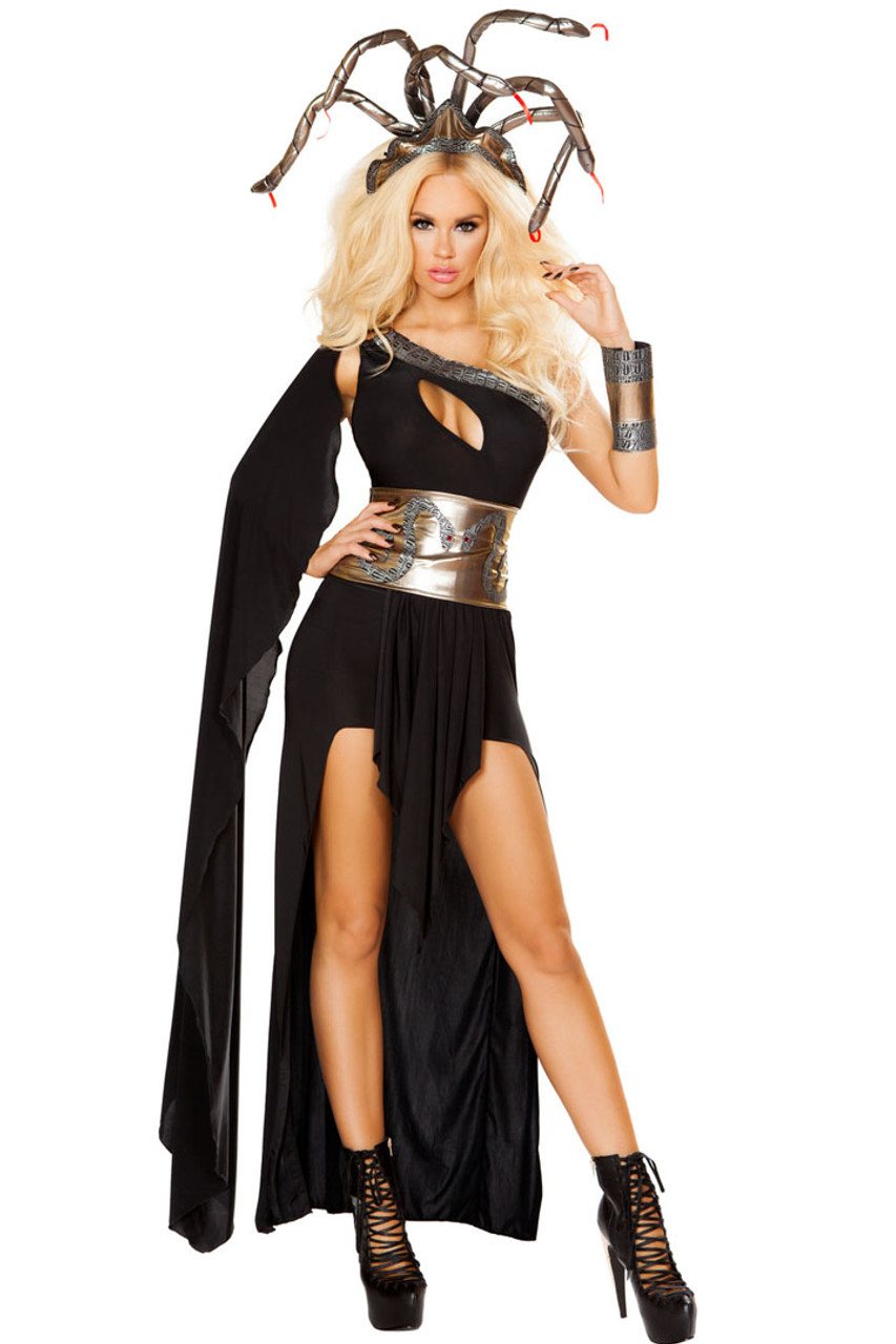 Womens Medusa Costume - Sexy Halloween Costumes-1087