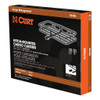 """CURT 48"""" x 20"""" Basket-Style Cargo Carrier (Fixed 1-1/4"""" Shank with 2"""" Adapter) #18145"""