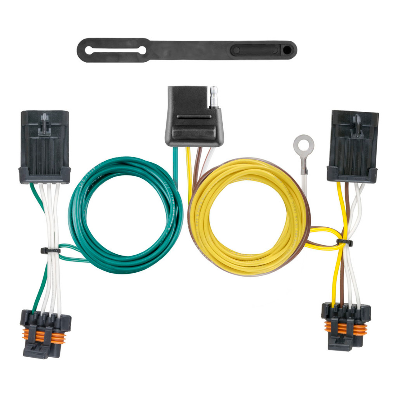 Curt Custom Wiring Harness 56340 Hitchmart Trailer Hitch No Converter 4 Flat Fit