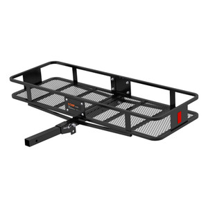 "CURT 60"" x 20"" Basket-Style Cargo Carrier (Folding 2"" Shank) #18151"